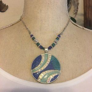 Kim Rogers ocean enamel AB stone jewelry box set